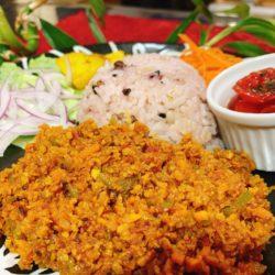 高野豆腐のスパイスカレー